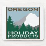 Productos Mousepad del día de fiesta de Oregon Tapetes De Ratón