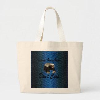 Productos multi del modelo azul marino de la bolsa tela grande