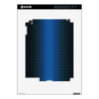 Productos multi del modelo azul marino de la pegatinas skins para iPad 3