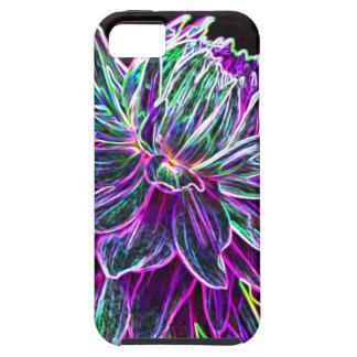 Productos multicolores de la dalia del borde que b iPhone 5 Case-Mate protector