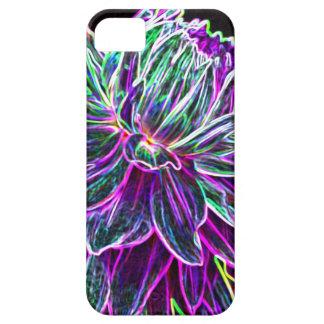 Productos multicolores de la dalia del borde que b iPhone 5 Case-Mate cárcasas