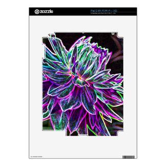 Productos multicolores de la dalia del borde que b iPad 2 skins