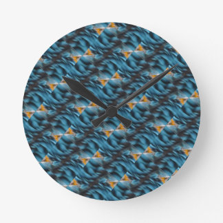 Productos múltiples amarillos azules relojes de pared