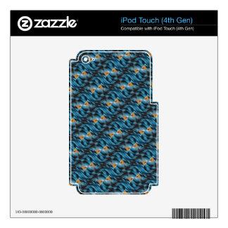 Productos múltiples amarillos azules calcomanía para iPod touch 4G