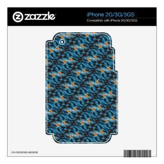 Productos múltiples amarillos azules skins para iPhone 2G