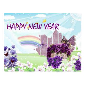 (productos múltiples] Año Nuevo Tarjetas Postales