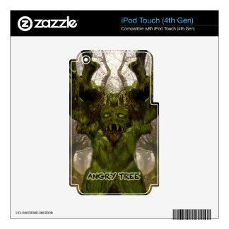 Productos múltiples de los regalos enojados del iPod touch 4G skin