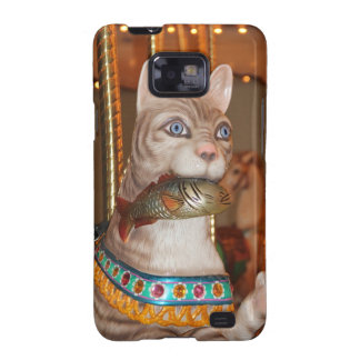 Productos múltiples de lujo del gato samsung galaxy SII carcasas
