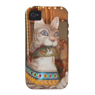 Productos múltiples de lujo del gato iPhone 4 fundas
