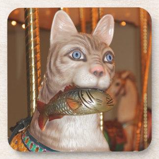 Productos múltiples de lujo del gato posavaso