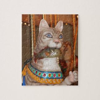 Productos múltiples de lujo del gato rompecabeza con fotos