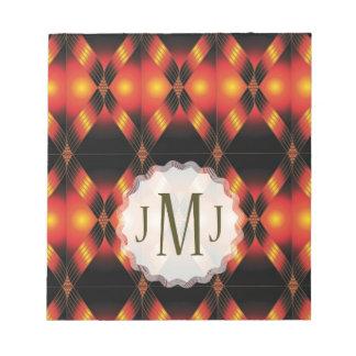 Productos múltiples del monograma JMJ seleccionado Blocs De Notas