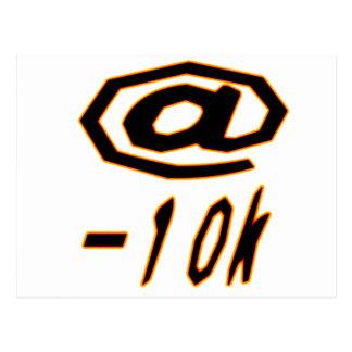 (productos múltiples seleccionados) @-10 postal