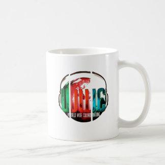 productos mundiales de la colaboración taza de café