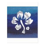 Productos musicales de la flor tarjetas postales