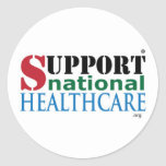 Productos nacionales de la atención sanitaria de l pegatina redonda