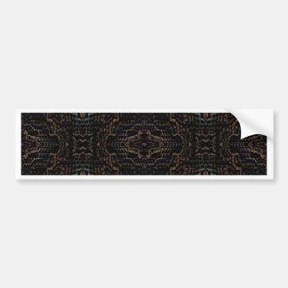 Productos negros modernos del diseñador del modelo pegatina de parachoque