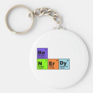 Productos Nerdy de la tabla periódica Llavero Personalizado