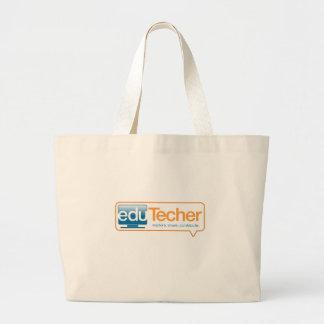 Productos oficiales del eduTecher Bolsa Tela Grande