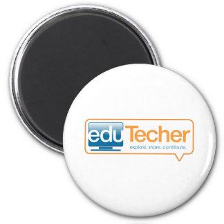 Productos oficiales del eduTecher Imán Redondo 5 Cm