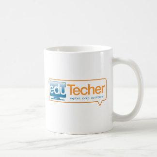 Productos oficiales del eduTecher Taza Básica Blanca