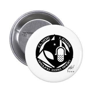 ¡Productos oficiales del punto cero! Pin Redondo De 2 Pulgadas