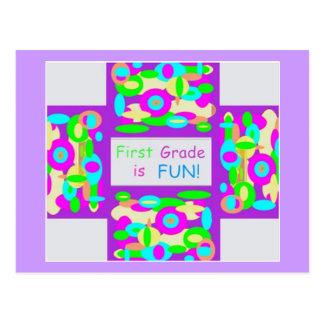 Productos para el primer grado tarjetas postales
