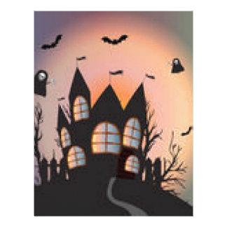 Productos para Halloween Membrete A Diseño