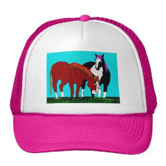 productos perezosos del caballo de los días gorras