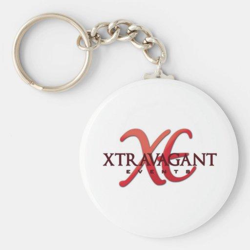 Productos personales de los acontecimientos de Xtr Llavero Redondo Tipo Pin