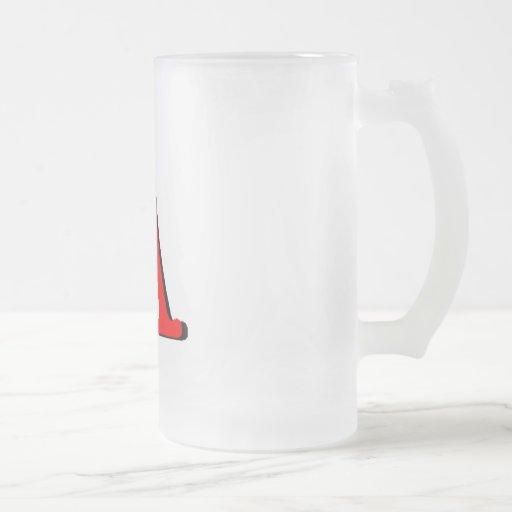 Productos personalizados: Rubrique A Taza Cristal Mate