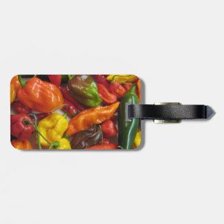 Productos principales del chile etiquetas bolsas