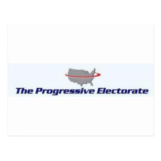 Productos progresivos del electorado tarjetas postales