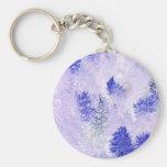 productos púrpuras del árbol de navidad llavero