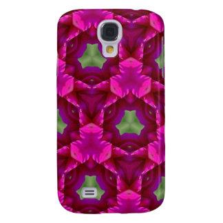 Productos púrpuras y verdes abstractos