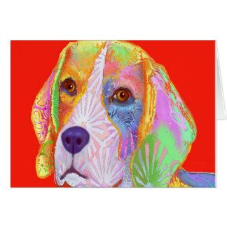 Productos que contienen un perro del beagle felicitaciones