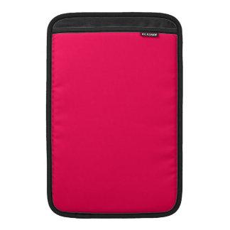 Productos rosados rojos del diseño del color solam fundas macbook air