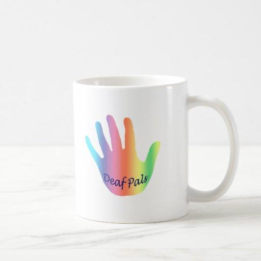 Productos sordos taza de café