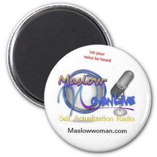 Productos vivos de MaslowWoman Imán Redondo 5 Cm