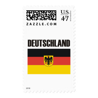 ¡Productos y diseños de Alemania Deutschland! Estampilla