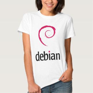 ¡Productos y diseños de Debian Linux! Polera