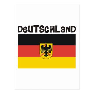 ¡Productos y diseños de Deutschland Alemania! Tarjeta Postal