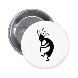 ¡Productos y diseños de Kokopelli! Pin Redondo 5 Cm