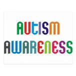 ¡Productos y diseños de la conciencia del autismo! Postal