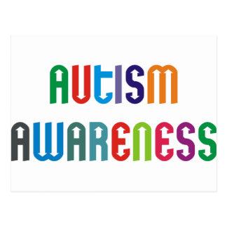 ¡Productos y diseños de la conciencia del autismo! Tarjeta Postal