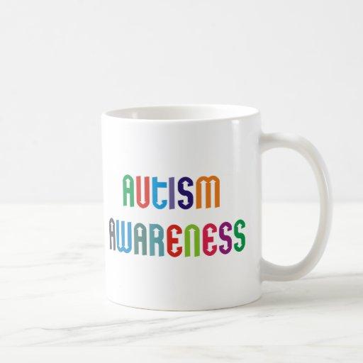 ¡Productos y diseños de la conciencia del autismo! Taza De Café