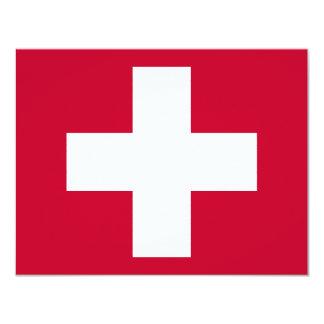 """¡Productos y diseños de la Cruz Roja! Invitación 4.25"""" X 5.5"""""""