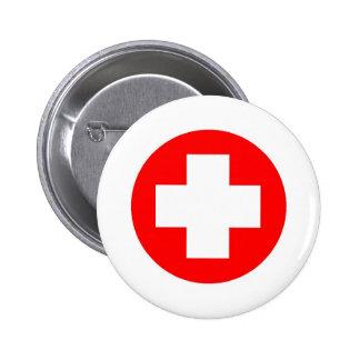 ¡Productos y diseños de la Cruz Roja! Pin Redondo 5 Cm