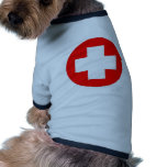 ¡Productos y diseños de la Cruz Roja! Camisetas De Mascota
