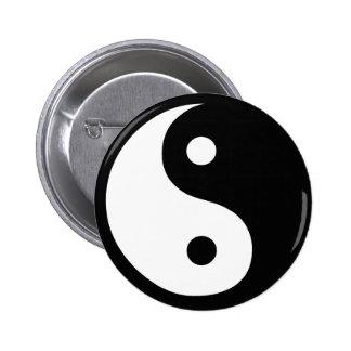 Productos y diseños de la paz de Feng Shui Pin Redondo De 2 Pulgadas